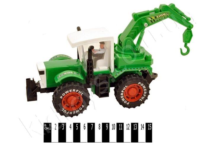 Трактор (кульок) 3368-1, кукла, игры спанч боб, игрушки каталки, купить детскую игрушку киев, купить игрушки оптом, игрушки от 6 лет