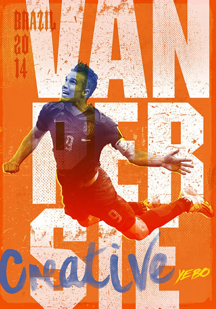 Robin Van Persie illustration by Yebo Design  Marketing