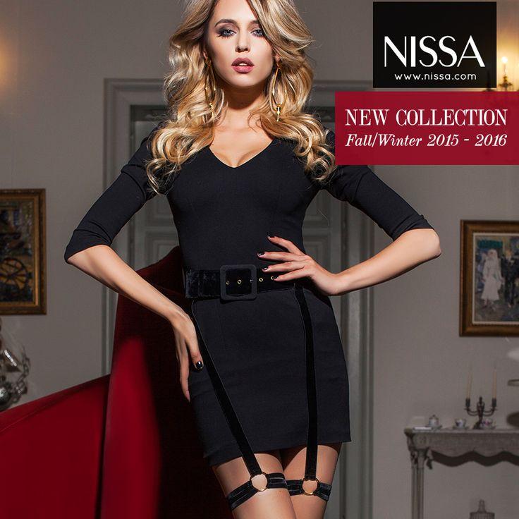 www.nissa.com #nissa #dress #mini #fw2015 #winterwear #model #mood #look #style #fashion #fashionista