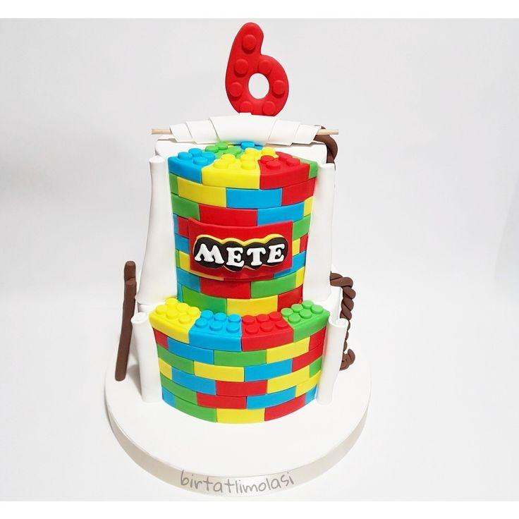 Lego pasta  Lego cake