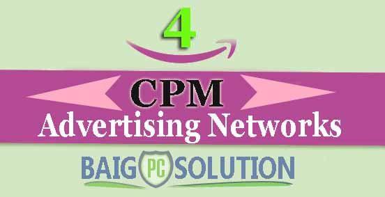 TOP 4 CPM Advertising Programs To Make Money