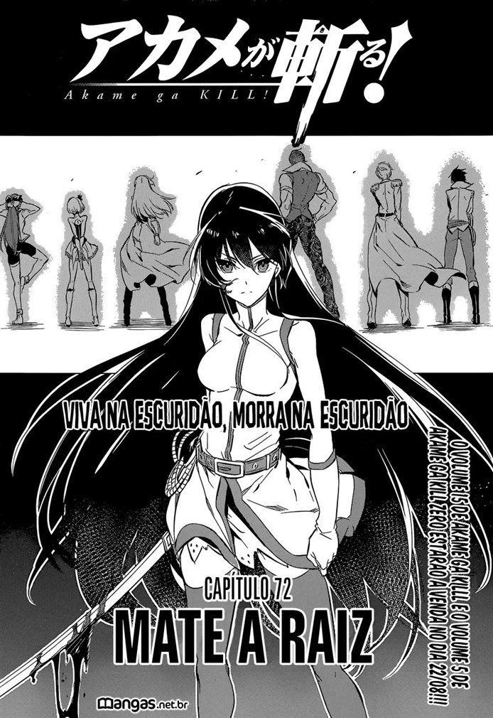 Akame ga Kill 072 (Leitura Online) || Central de Mangás - Leitura Online de Mangás em Português
