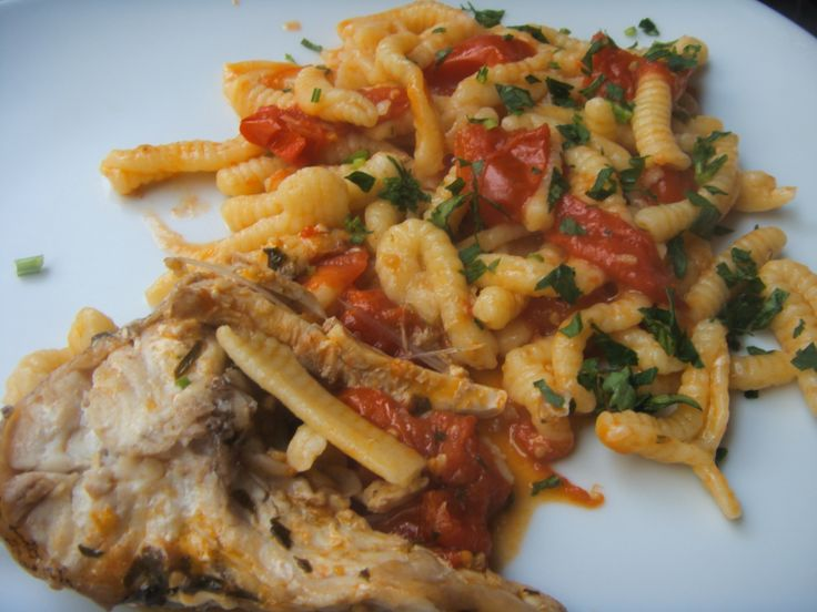 Cavatelli with Grouper