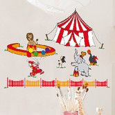 Found it at Wayfair - Euro Circus Wall Decal