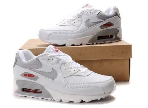 Nike Air Max 91 Mens Shoes White Grey TUtWr