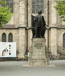 Neues Bach-Denkmal in Leipzig – Wikipedia