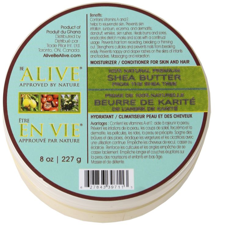 AOneBeauty.com - Be Alive Raw Whipped 100% Natural Shea Butter (8oz) , $14.99 (http://www.aonebeauty.com/be-alive-raw-whipped-100-natural-shea-butter-8oz/)