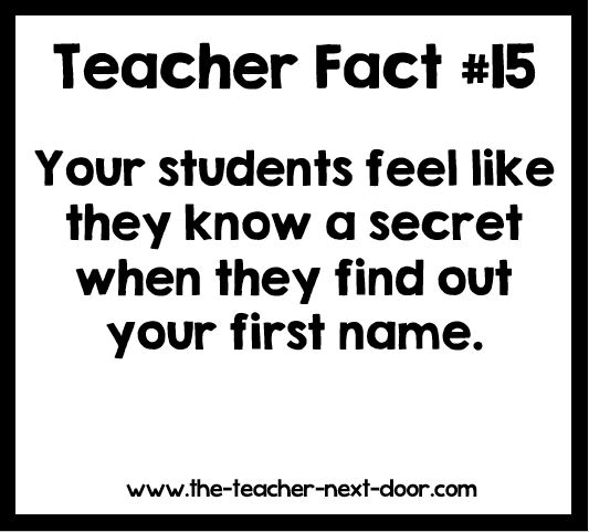 Right? Find more teacher humor and observations that might make you laugh on The Teacher Next Door's Teacher Humor Pinterest Board.