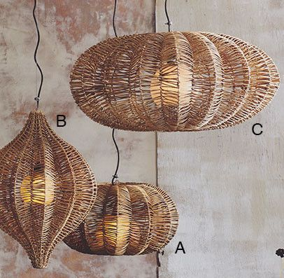 Roost Costa Verde Hanging Lamp   Large