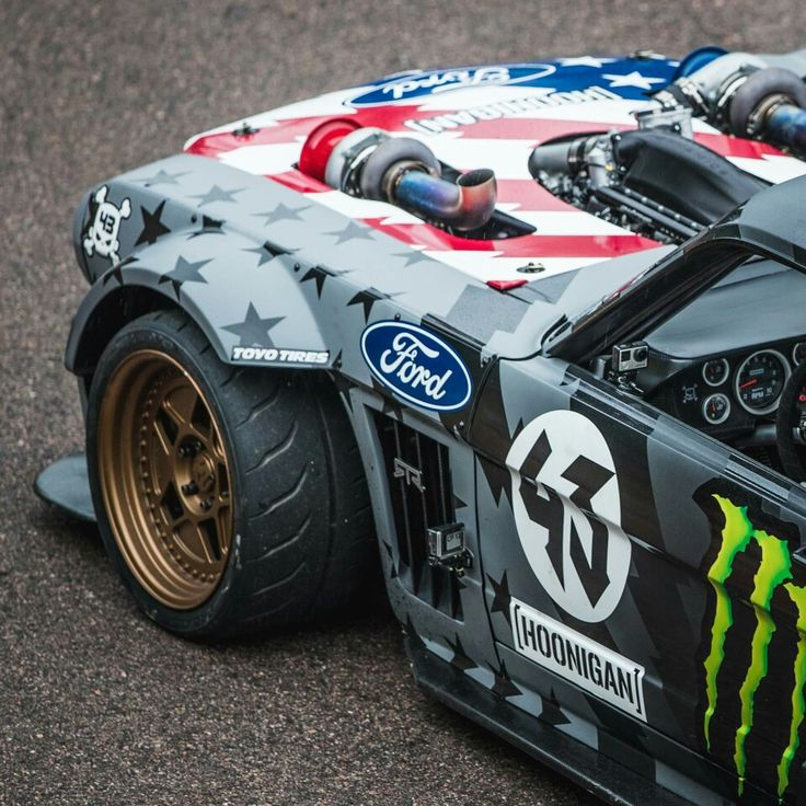 Ford Mustang Ken Block - Ford has so many awesome vehicles, why look anywhere else?