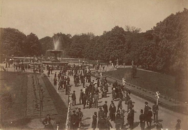 Ogród Saski 1875