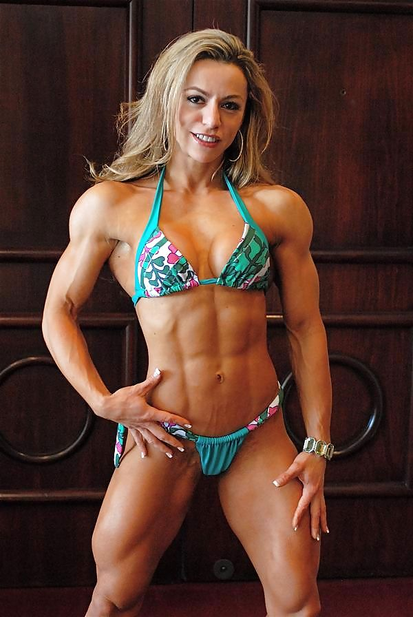Muscular development girls #1