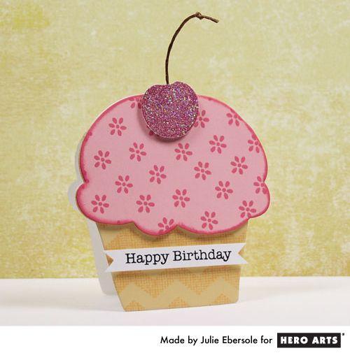 Cupcake Shaped Card