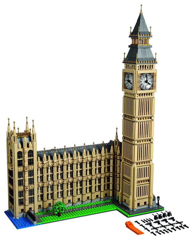 LEGO® Releases 4000+ Piece Set to Build Big Ben