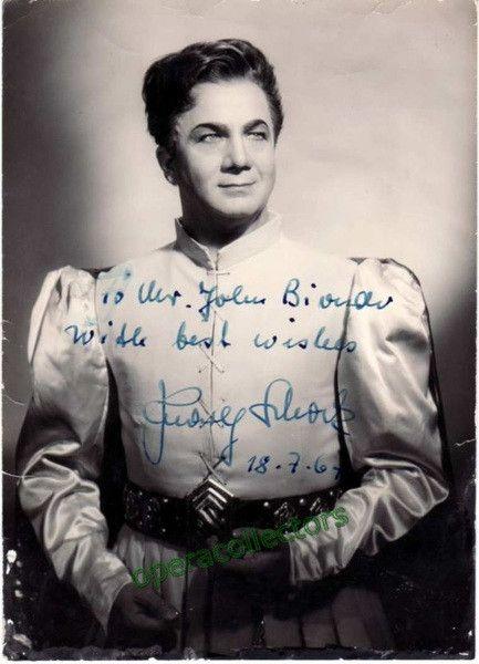 tenor rudolf schock rudolf tenors opera opera singers autographs ...