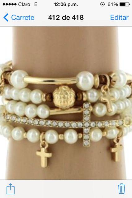 Pulseras d perlas - INCREDIBLY BEAUTIFUL!!