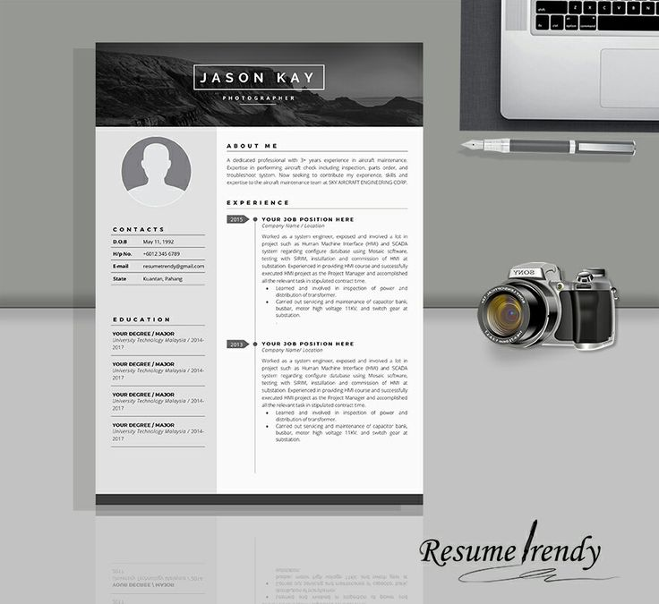 PREMIUM PRO 2! Our resumes are well-crafted and timeless, you can easily adjust them according to your needs and use for years. This resume template will surely satisfy your need while looking for your dreams career.