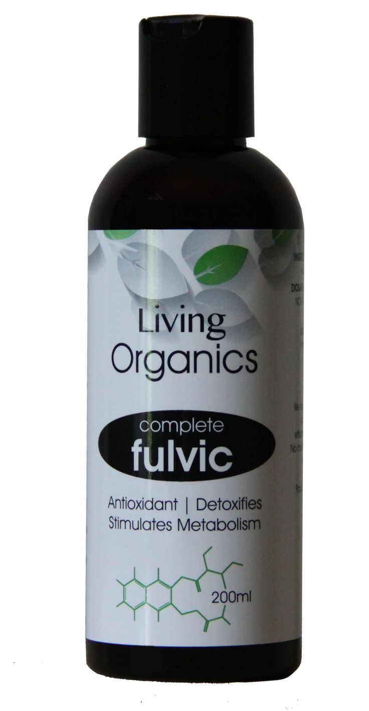Living Organics Complete Fulvic The Best Available on the Market Introducing Complete Fulvic from Living Organics. The purist and most concentrated fulvic has now been made available in Australia.