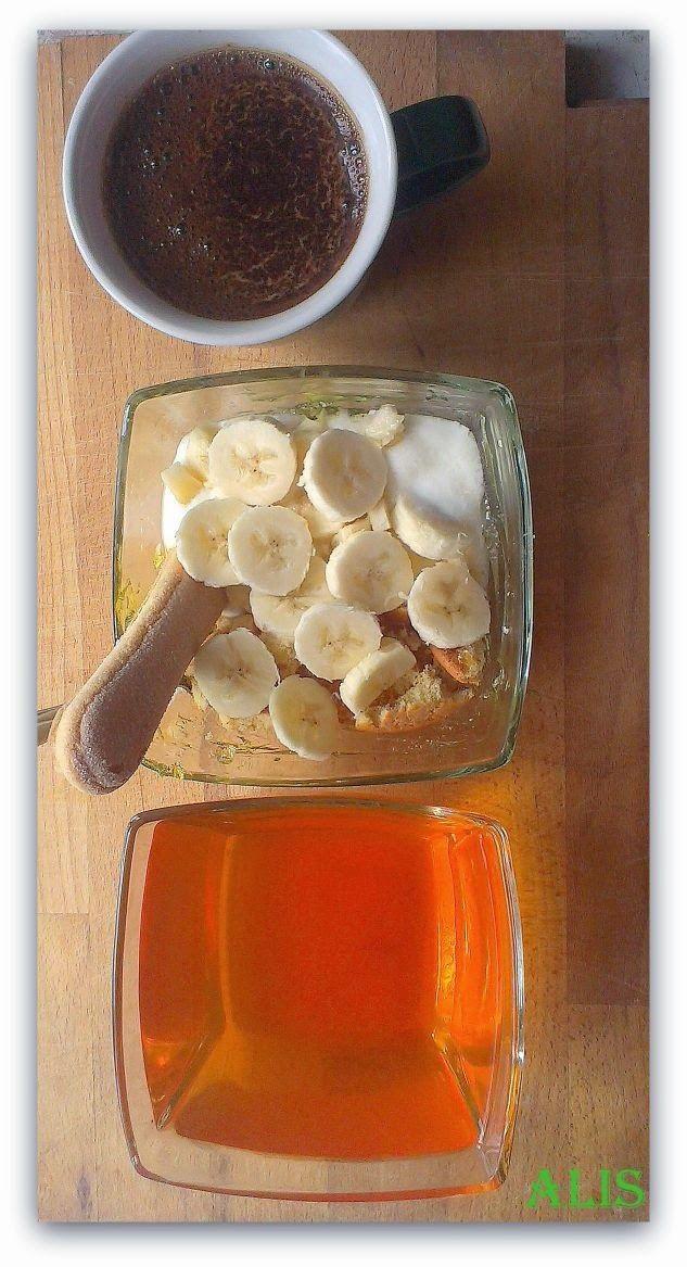 deser galaretka banan dieta wątrobowa