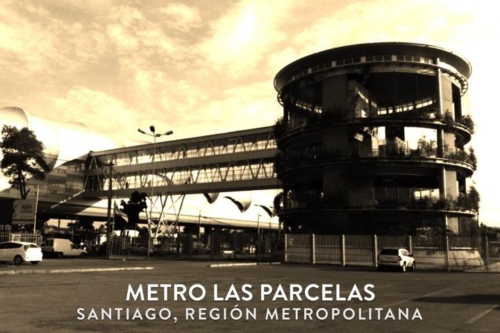 Metro Las Parcelas, Santiago, Chile
