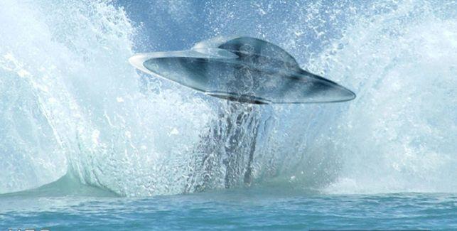 Ένα απο τα καλύτερα  τεκμηριωμένα VIDEO με UFO που μπαίνει και  μέσα στο νερό, απο την κυβέρνηση των ΗΠΑ!