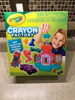 I predict this to be a hot item this holiday season! Crayola Crayon Factory is a Must Have this Holiday Season! #HGG @crayola