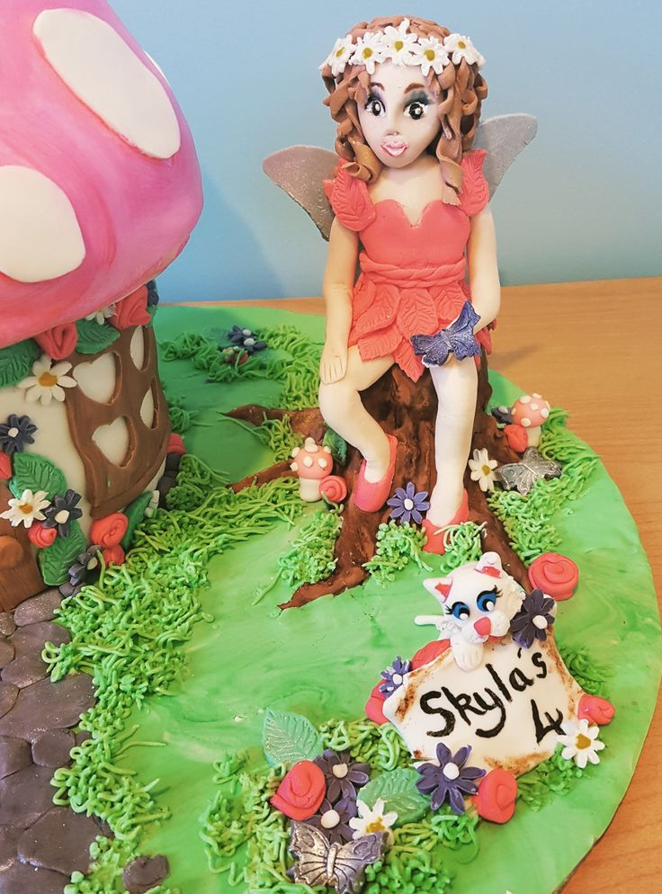 Fondant fairy