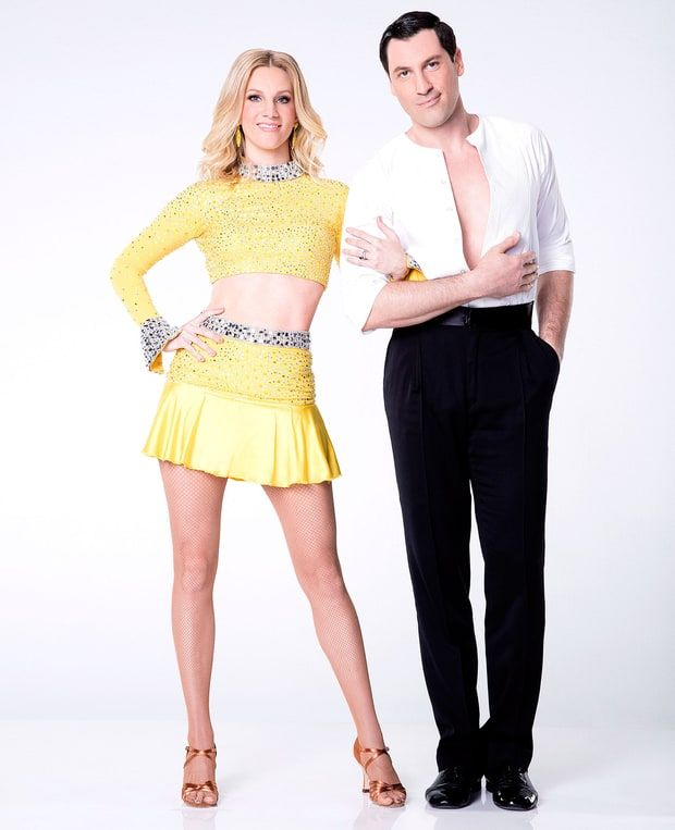 Heather Morris & Maksim Chmerkovskiy