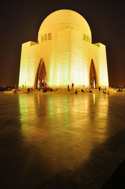 Mausoleum - The final abode of Muhammad Ali Jinnah, the founder of Pakistan