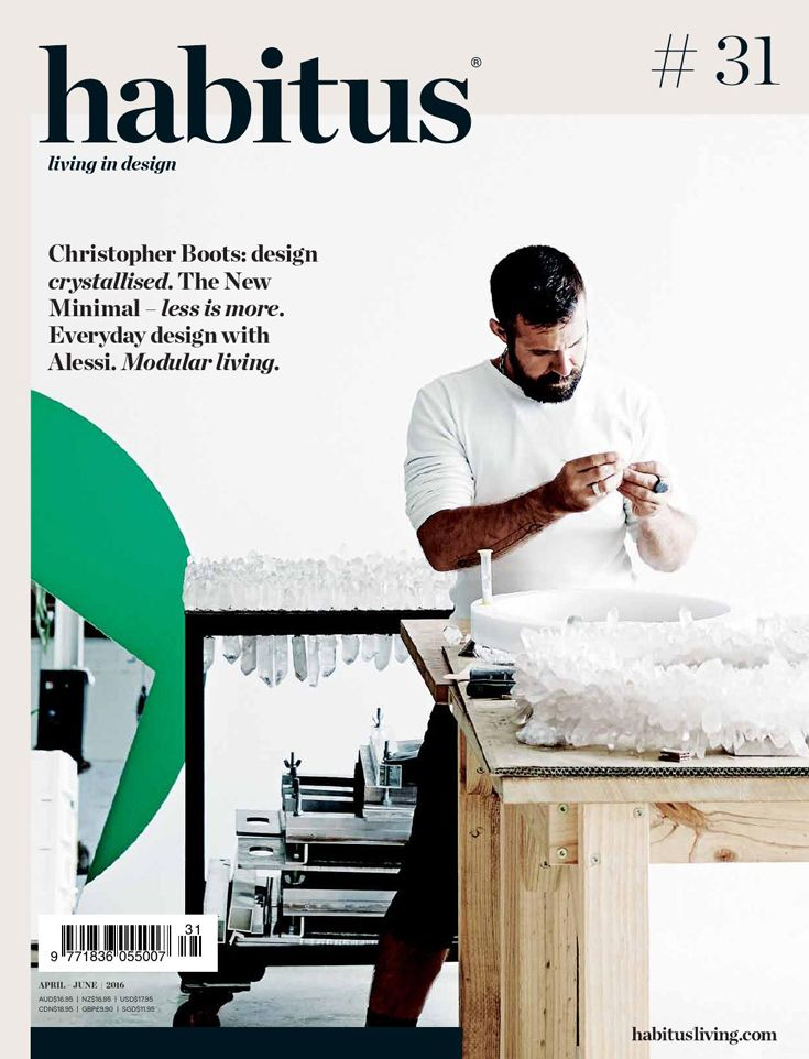 Habitus magazine. Issue 31,32 or 33. Available in Friday, Saturday and Sunday showbag.