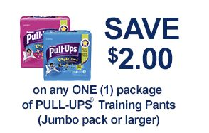 $2/1 Huggies Pull-Ups coupon - Money Saving Mom® --Just printed my coupon.  You can do print it 2 times!