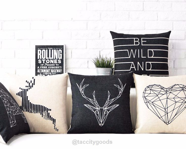 Nordic Style Decorative Throw Pillow Cases - Home Decor - Tac City Goods Co - 1  Link in the bio