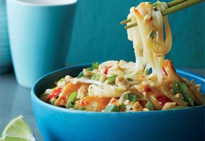 Pad thai au poulet - Coup de pouce