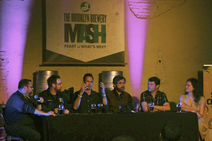 """Brooklyn Brewery took over St. Benjamin Brewing in Kensington as part of their Brooklyn Mash series Thursday night, bringing in some of the East Coast's most prominent beer leaders to discuss the """"State of Craft Beer"""" as the industry heads into the future."""