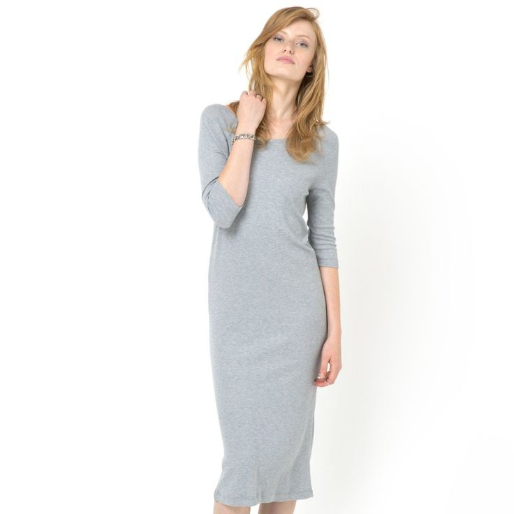 Vestido Soft Grey | La Redoute