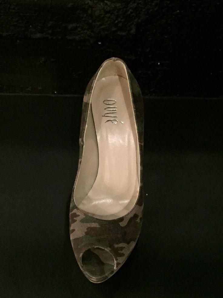 Decolleté spuntate con fantasia militare di B come bellezza. #Roma #shopping #bcomebellezza #fashion #scarpe