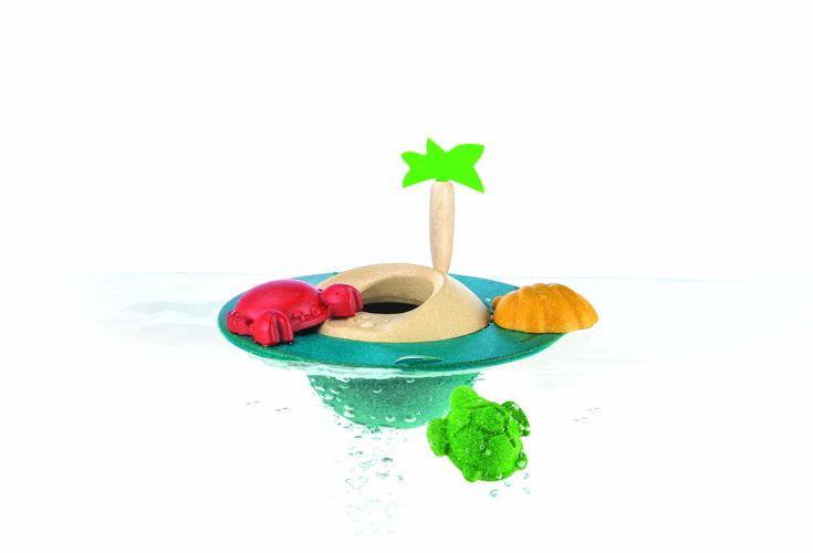 Drijvend Eiland - Plan Toys - Badspeelgoed, Waterpret -