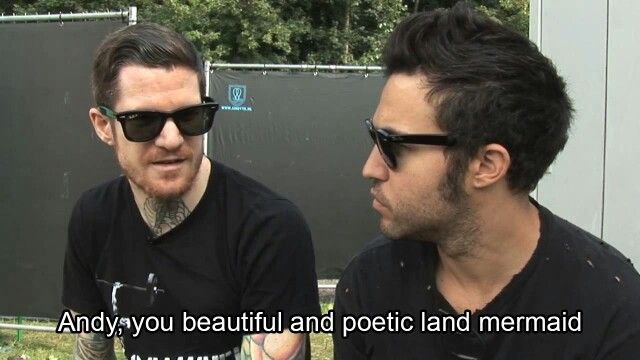 Andy: The beautiful and poetic land mermaid