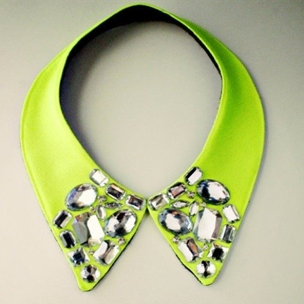 NEON OBSESSION COLLAR | shop jeen: Neon Obsession, Fashion, Obsession Collar, Jewel, Style, Collars, Neon Collar, Accessories, Accesories