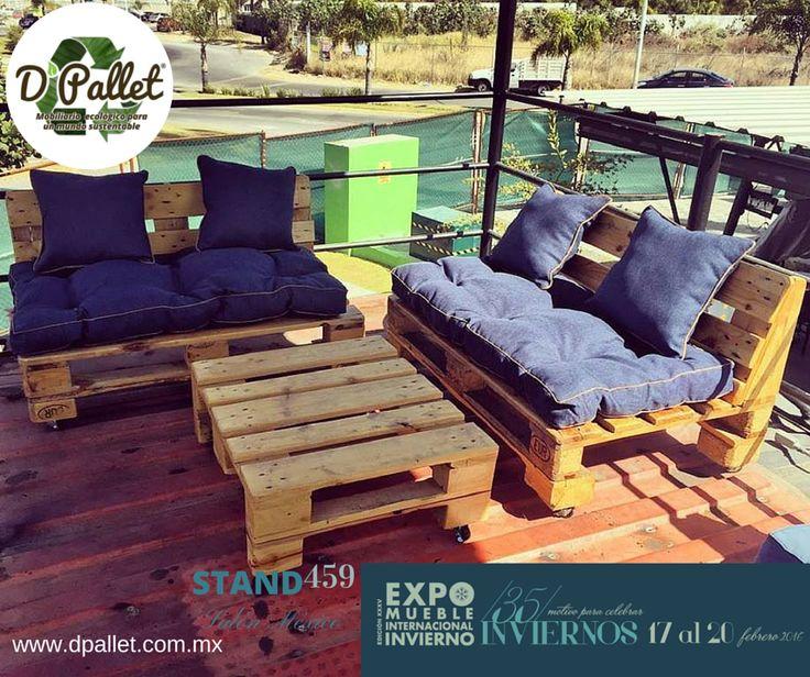 Sala Twin  #dpallet #mobiliarioecologico #diseñointeriorMobiliario para #hogar ventas@dpallet.com.mx WhatsApp 3310554119 Tel. 10320165  #Pallet #Palletfurniture #Ecofriendly #Pet  #Muebles #Mueblesconpalet