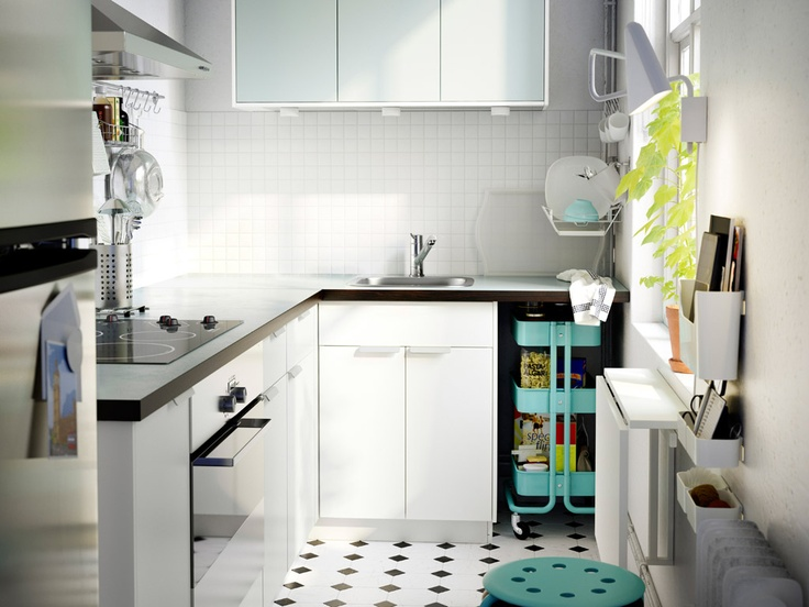 Small space choose smart solutions to make room for for Smart kitchen design small space