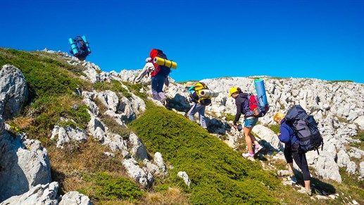 Trekking up the mountains #hiking #KILROY #nature