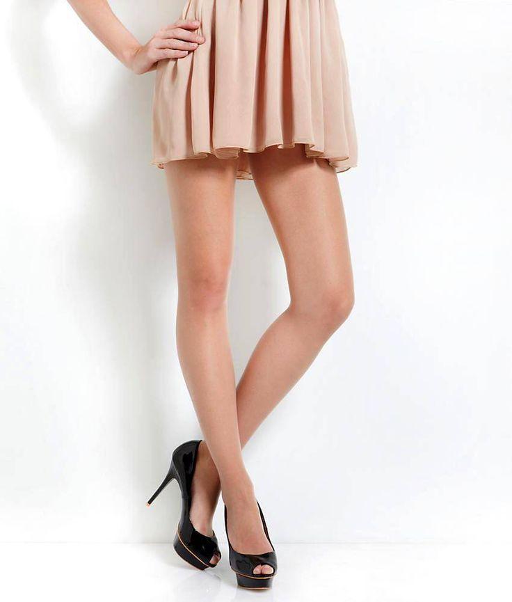De ultra dunne Shelina 12 toeless panty van Falke geven jouw benen een…