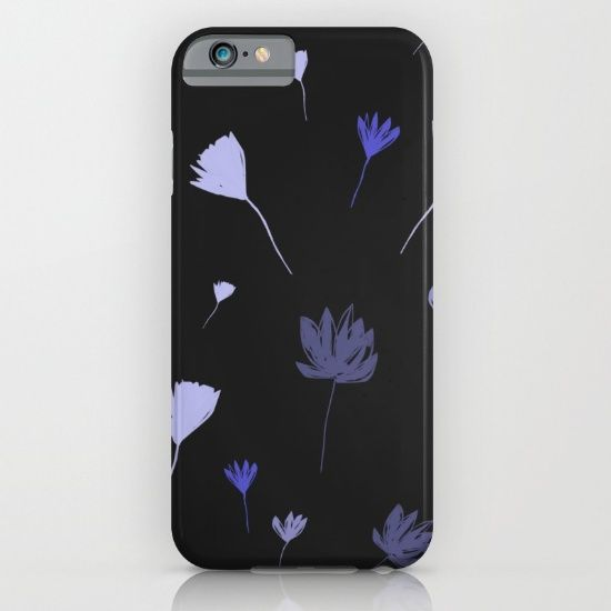 Flowers in the Night I iPhone & iPod Case