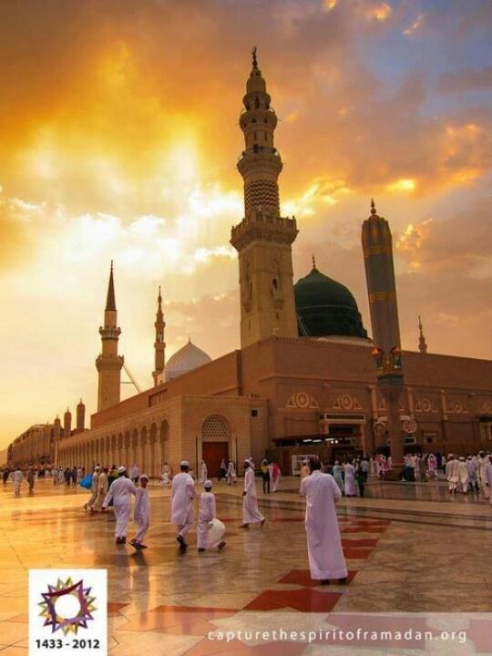 Masjid Nabawi,Madinah