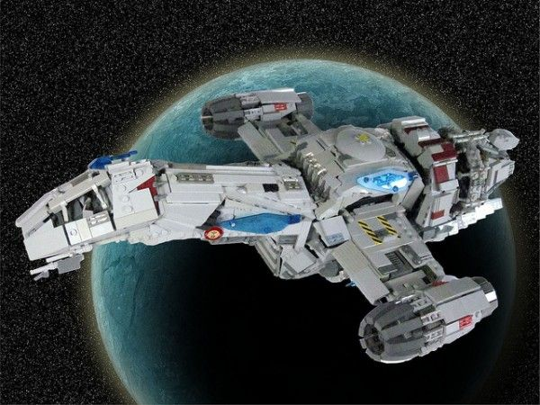 Unofficial 'Firefly' Serenity Lego kit goes on sale