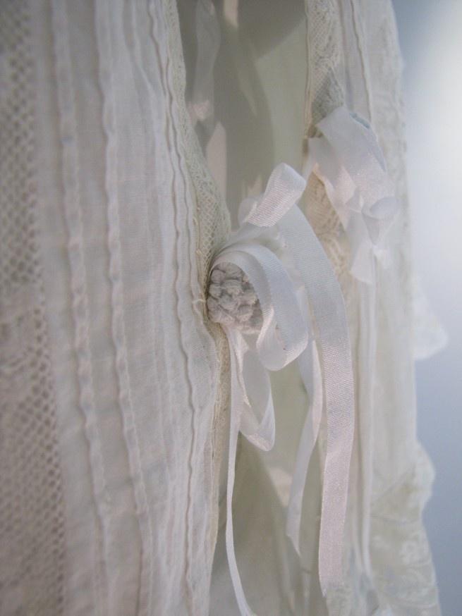 Image detail for -1900 Fancy Antique Hand-Assembled Lace Lingerie Cape | Salon of the ...