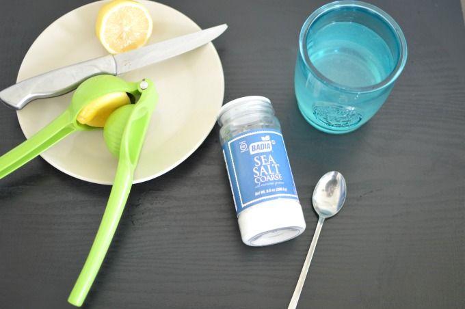 sea salt water flush weight loss