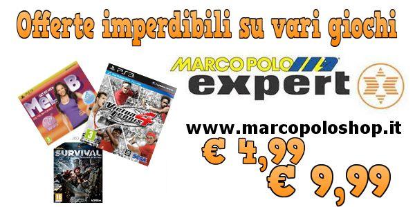 Offerte di giochi per PS3 - XBOX 360 e WII