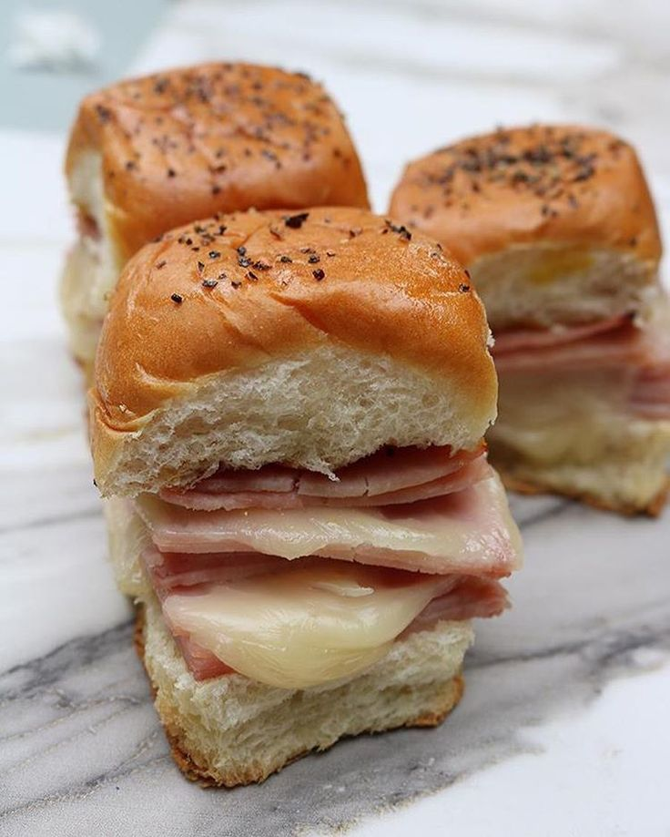 Still have leftover ham? Taste test these Ham and Cheese Sliders for dinner tonight!